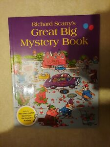 Richard Scarry's- Great Big mystery book