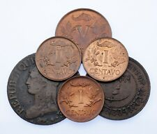 Lot of 6 World Coins with Mint Errors Repunched Dates Vf to Unc