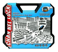 Channel Lock Mechanics Tool Set 200 piece Ratchet Wrenches with Case