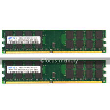 New Samsung 8GB 2X 4GB DDR2 800 MHZ PC2-6400 240PIN Desktop DIMM memory AMD cpu