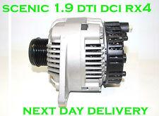 RENAULT SCENIC 1,9 DTI DCI inc RX4 1999 2000 2001 2002 2003 rmfd alternateur 120a