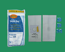 3 Hoover Type SR Canister Allergy Vacuum Bags 401011SR Duros Maytag Legend S3590