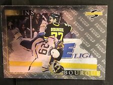 RAY BOURQUE 1995-96 Score Hockey ARTIST'S PROOF Black Ice Card #199 Rare BRUINS