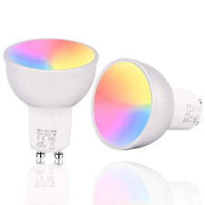 GU10 Wifi Smart RGBW 5W LED Light Bulb for Alexa/Google Home APP Control NEW