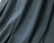 Organic Cotton Jersey Knit Fabric Ecofriendly Eko Certified 7 oz Denim Blue