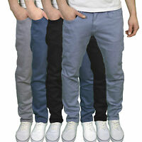 Crosshatch Mens Designer Branded Slim Fit Jeans, Available in 4 colours, BNWT