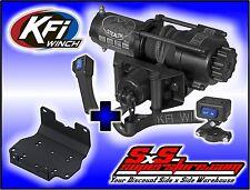 3500 lb KFI Stealth Winch Combo Yamaha Grizzly and Kodiak 700 2016