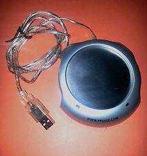 Chauffe-tasse USB2  NEUF  avec voyants et interrupteur, marque PRIZEE