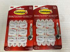 Command Mini Hooks General Purpose White .5 lb 2 Count 6 Each 12 Total