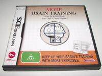 More Brain Training Nintendo DS 2DS 3DS Game *No Manual*