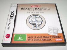 More Brain Training Nintendo DS 2DS 3DS Game Preloved *Complete*
