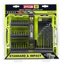 Ryobi 32 Piece Impact Driving and Drilling Set