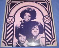THE SUPREMES  (OZ ORIG. STEREO LP ) SING ROGERS & HART- WORLD RECORD CLUB