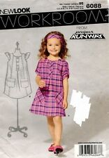 New Look Child's Dress Pattern 6088 Size 3-8 UNCUT