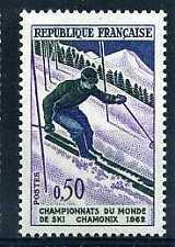FRANCE - 1962 yvert 1327 - ski, slalom - neuf**