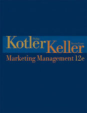 USED (VG) Marketing Management (12th Edition) by Philip Kotler