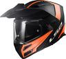 LS2 FF324 METRO EVO DUAL VISOR FLIP FRONT MOTORCYCLE ADVENTURE FULL FACE HELMET