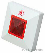 FULLEON    LED + BUZZER    REMOTE LED INDICATOR W/ BUZZER, 20V, RED