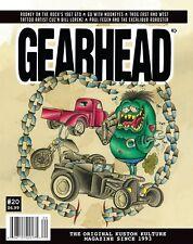 Gearhead® Magazine #20 Mooneyes TROG Rodney Bingenheimer GTO Hot Rods Kustom