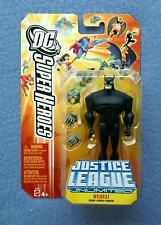 WILDCAT JUSTICE LEAGUE UNLIMITED DC SUPER HEROE COMICS MATTEL 4 INCH FIGURE