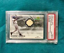 KEN GRIFFEY JR 2000 UPPPER DECK SOUVENIR GAME USED BAT CARD PSA 10 POPULATION 1