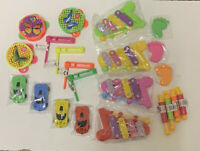 4 x Kids Football Rattle Party Bag Fillers Children/'s Stocking Pocket Money Toy