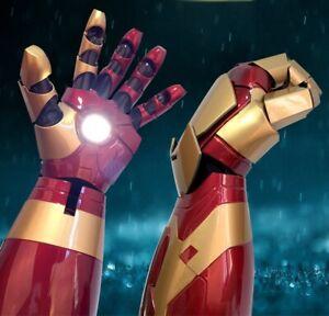 Iron Man Captain America 3 Right Left Arm toys Leucht sound cosplay Kostüme 1:1