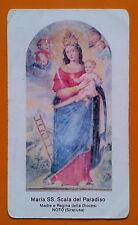 Santino Holy Card: Noto - Maria SS. Scala del Paradiso