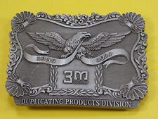 VINTAGE 1952-1977 3M DUPLICATING DIVISION BELT BUCKLE