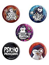 Psycho Penguin Badge Pack
