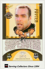 2009 Select NRL Champions Superstar Acetate Mascot Gem Card MG16 Todd Payten
