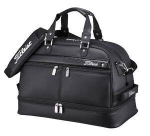 TITLEIST Boston Bag Sports Gym Travel AJBB67 Black Shoes Pocket Japan EMS Ship