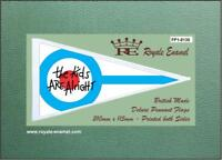 Royale Antenna Pennant Flag - THE WHO KIDS ARE ALRIGHT MOD - FP1.0135