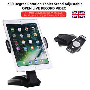 7''-15'' High Quality Tablet Holder Stand Desktop Table Desk Mount  For iPad/Tab