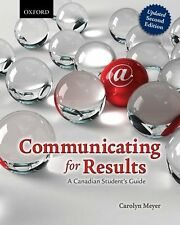 Communicating for Results: A Canadian Students Gu