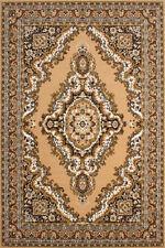 Tapis beige à motif Floral pour la maison