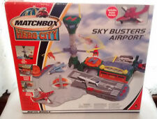 NEW IN BOX~ Matchbox HERO CITY SKY BUSTERS AIRPORT AIRPLANE ~RARE