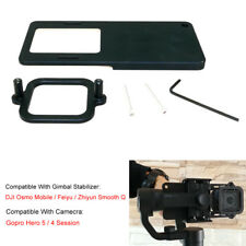 Support adaptateur cardan pour Gopro Hero 5 4 session dji Osmo mobile 2 Zhiyun