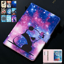 "For iPad 10.2"" 7th Gen/Air 1 2 3/mini/9.7"" 6th 5th Gen Smart Leather Case Cover"