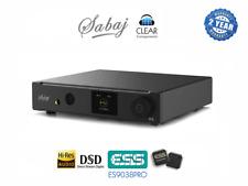 Sabaj d5-USB DSD-DAC es9038pro 768khz DIGIT Analog Converter Highend-Top