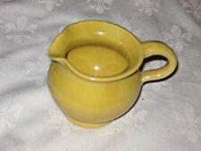 A Very Small Yellow Glaze Australian Studio Pottery Creamer Sauce Jug