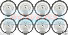 """8 X SIM 3227 12v/24v 9"""" Round Spotlights Spotlamps LED Angel Eye Sidelights"""