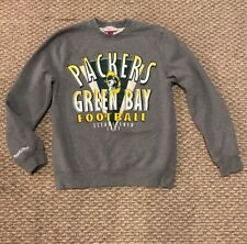 Green Bay Packers authentic Mitchell & Ness crew neck sweatshirt size: M Medium