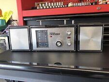 Scarce Vintage Hitachi KS-1700H AM FM Stereo Transistor Radio Detachable Speaker