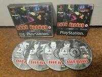 Fear Effect 1 - PlayStation 1 PS1 - PAL - Complete