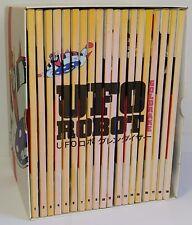 UFO Robot Goldorak Boîte Set Complet 19 DVD Gazzetta Yamato