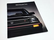 1983 Honda Civic Sedan Hatchback Wagon Brochure