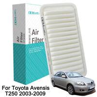 Air Filter 17801-YZZ03 For Toyota Avensis T250 2003-2009 1.6L 1.8L 2.0L 2.4L