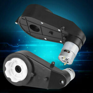 RS550 40000RPM 12V Universal Motor GearBox For Kids Ride-On Bike Car Toy Parts