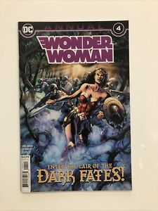 Wonder Woman Annual #4 - First Appearance Of The New Wonder Woman